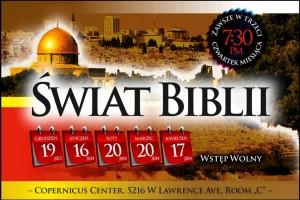 ŚWIAT BIBLII Copernicus Center