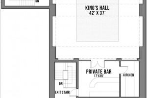 King's Hall | Venue Rental | Floor Plan | Copernicus Center