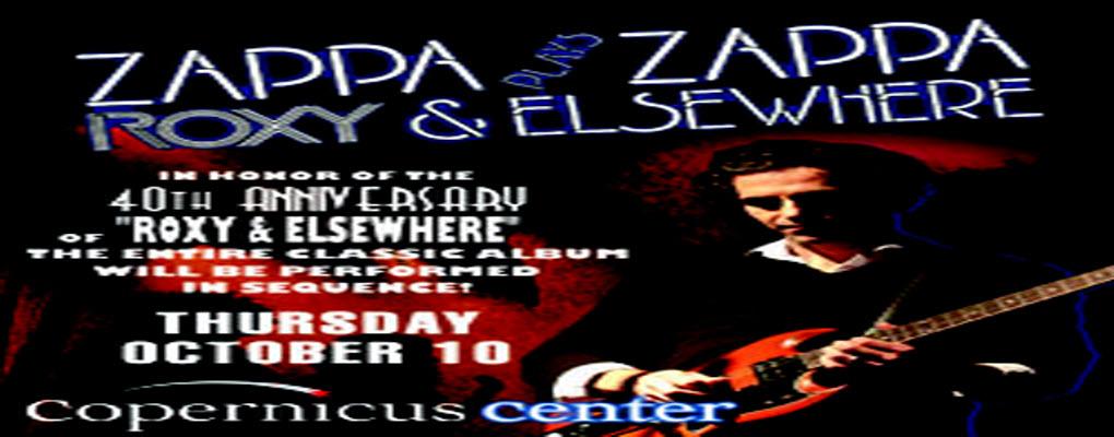 Zappa plays Zappa 10-10-13