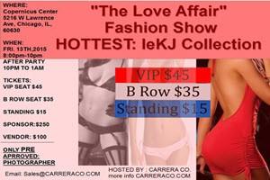 The Love Affair Fashion Show