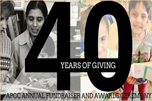 APCC 40 Years of Giving