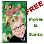 a Christmas Story, Christmas movie, Copernicus Center, family event, Free Family Event, free movie, Jefferson Park, Jefferson Park Chamber of Commerce, Santa, Santa visit