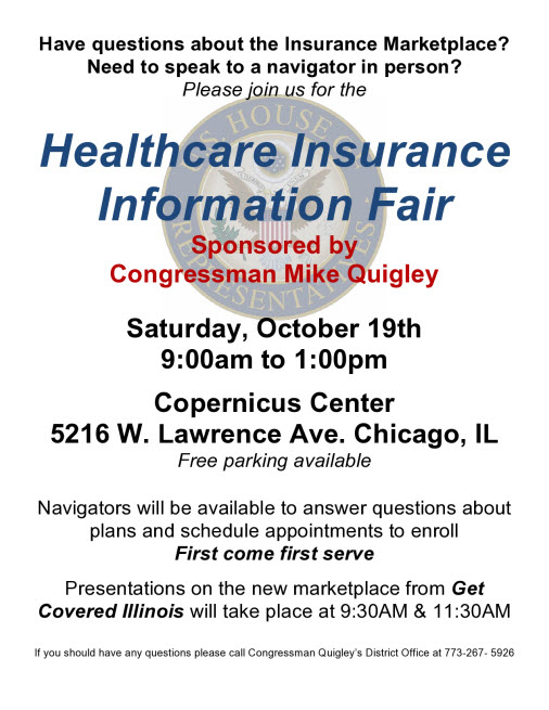 Health Care Insurance Fair Chicago