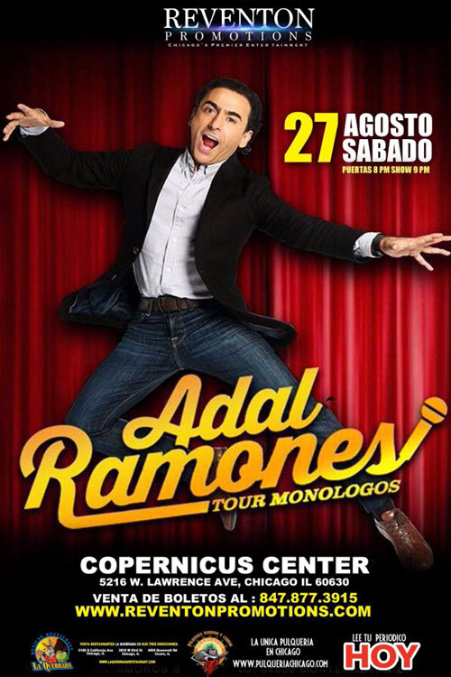 Adal Ramones Monologes Tour 2016 - Chicago