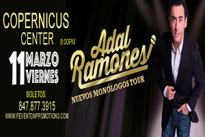 Adal Ramones Monologes Tour 2016