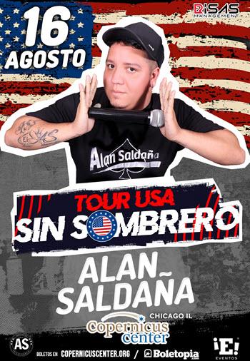 Alan Saldaña en Chicago