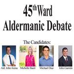 aldermanic debate, chicago, 45th ward, jefferson park