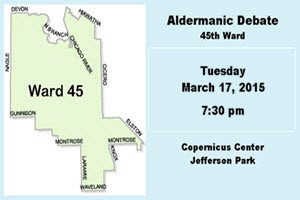 Aldermanic Debate 3-17-2015