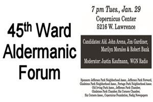 45th Ward Aldermanic Forum