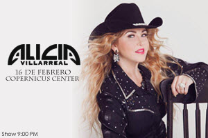 Alicia Villareal en Concierto, Chicago IL, Copernicus Center, Reventon Promotions events, Alicia Villareal en Chicago