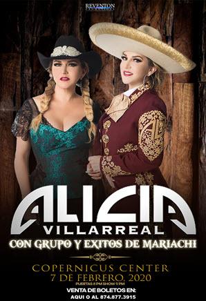 Alicia Villarreal en Concierto 2020