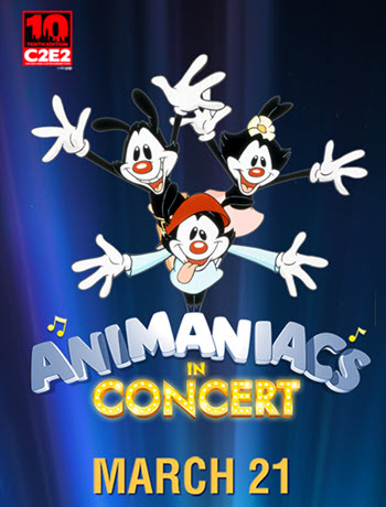 Animaniacs In Concert, Animaniacs Live Concert, Animaniacs in Chicago, Copernicus Center, 2019-03-21