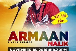 The Prince Of Romance, ARMAAN MALIK, Hindi music, hindi concert, chicago, Copernicus center, 11/18/2016, hindi event, Hindustani Classical Music, Indian events chicago, live concerts chicago