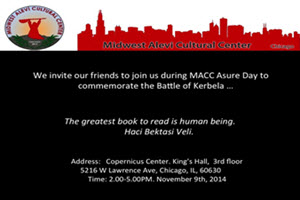Midwest Alevi Cultural Center Asure Day