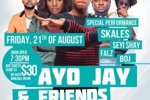 Ayo Jay, Chicago, AfroBeat Concert, Skales, Seyi Shay, Boj, Falz, 8/21/15, Live Concert, Chicago Events, Copernicus Center