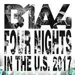 B1A4, B1A4 Tour, Jinyoung, Cnu, Sandeul, Baro, Gongchan, kpop, Korean Events, Chicago, Copernicus Center, 2/17/2017, Banas, February 17, live concert, 2017 BANAS