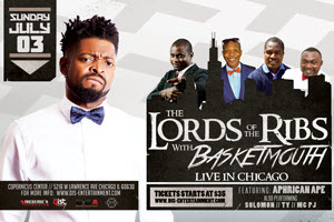 Lords of the Ribs with Basketmouth