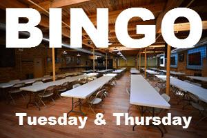 Bingo | Tuesday | Thursday | Chicago | Copernicus Center