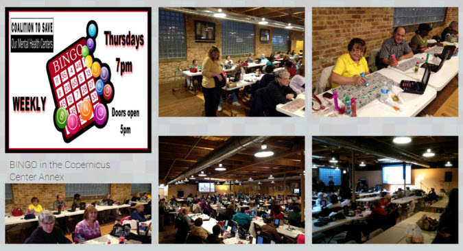 Bingo - Thursday nights - Jefferson Park