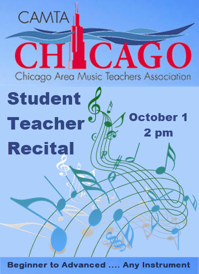 student recital, live concert, piano concert, chicago family events, Copernicus center, October 1, student teacher recital, Chopin society, Chicago Chopin Society, jaroslaw Golembiowski, Chicago Area Music Teachers Association, CAMTA, piano recital, student concert