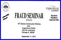 Fraud Seminar