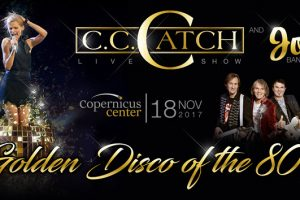 Golden Disco of The 80's, CC Catch, CC Catch and Joy, 11/18/2017, Live Chicago concerts, disco music, 80s disco, Chicago events, Copernicus Center, CC Catch tickets