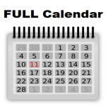 Full calendar of events