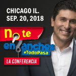 No te enganches, #TodoPasa, Dr Cesar Lozano, Placer de Vivir, 9/20/2018, Chicago, Cesar Lozano en Chicago, Copernicus Center