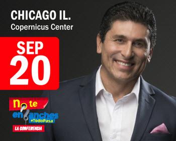 No te enganches, #TodoPasa, Dr Cesar Lozano, Placer de Vivir, 9/20/2018, Chicago, Cesar Lozano en Chicago, Copernicus Center