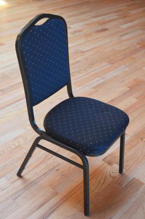 Chair - Black Gold Pattern