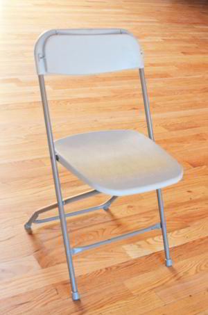Chair - Grey folding