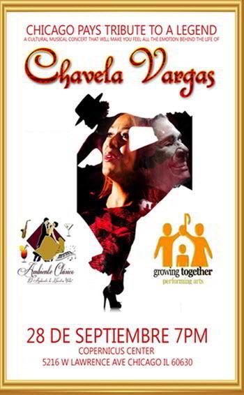 Tribute to Chavela Vargas, chavela vargas, september 28 2018, mexican music, luisa maria, Eventos en Chicago, Eventos Latino, conciertos latinos, Chavela Vargas boletos, Copernicus Center, Mexican Folk Dancing, Live Mariachi Performances in Chicago, Falmenco Dancing in Chicago