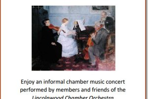 Classical music, chamber music, live music, orchestra, November events, 11/27/2016, recital, soiree, concert, chicago events, free events, music social, family events, Copernicus center, chicago, Lincolnwood Chamber Orchestra