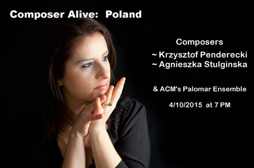concert, classical music, Chicago, Polska, composer, piano, violin, WFMT, 98.7, ACM, Krzysztof Penderecki, Polish Consulate, Copernicus Center