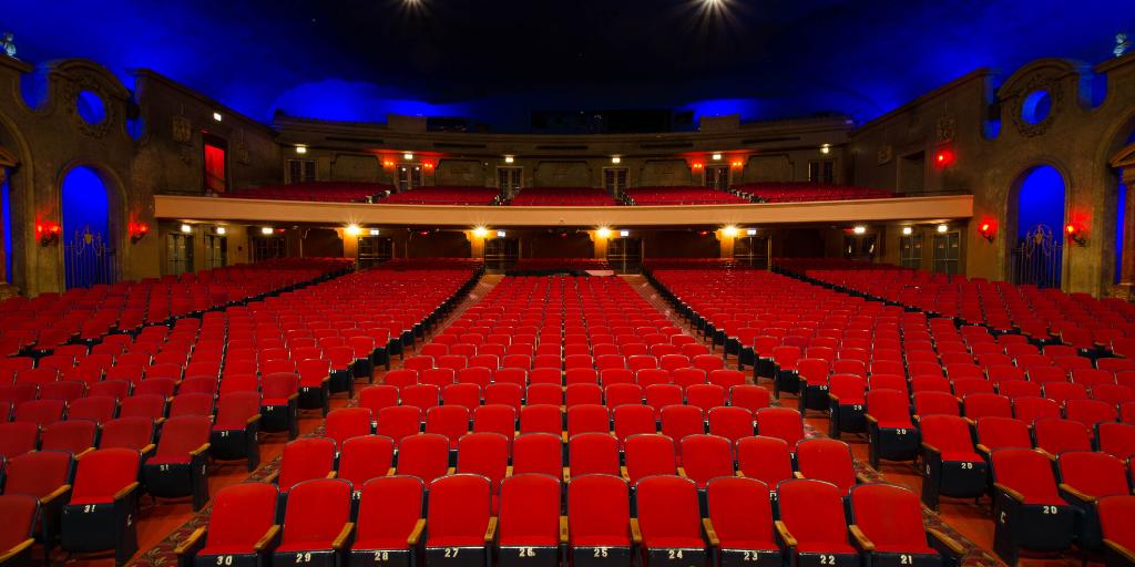 Copernicus Center theater seats