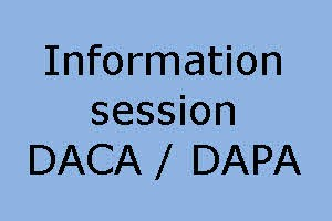 Information session on DACA – DAPA