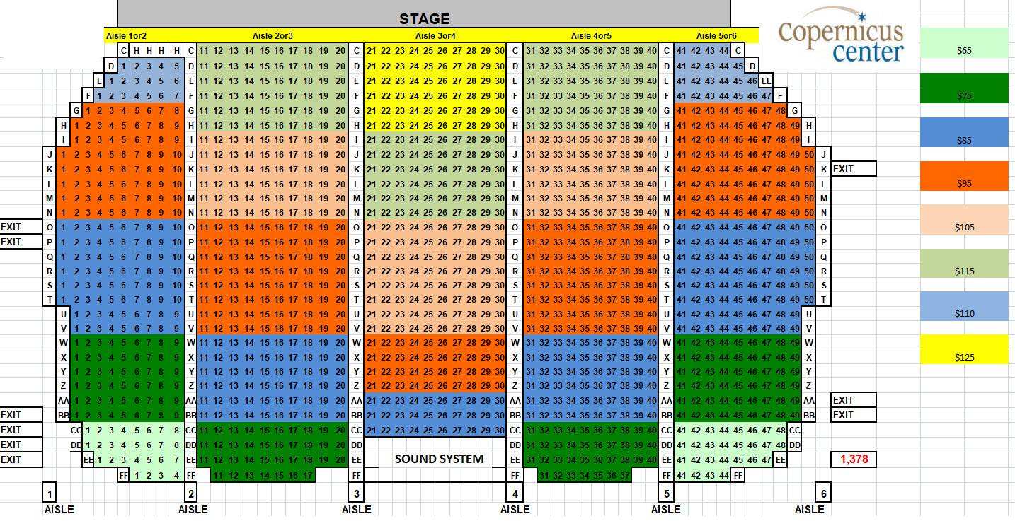 See Seating Chart