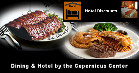 Dining, Jefferson Park, Hotel, Hotel discount, copernicus center, chicago
