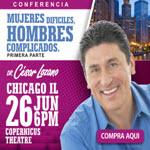 Dr. Cesar Lozano en Chicago, Viernes 26 de Junio 6PM, Copernicus Theatre, Chicago, Cesar Lozano, Copernicus Center