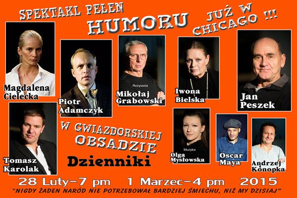 Dzienniki, Polska, polskie imprezy, Polonia, Centrum Kopernik, Copernicus Center, Chicago