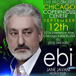 ebi, persian concert, chicago persian events, farsi music, pop music, chicago concert, chicago events, chicago, Ebi, EMH Productions