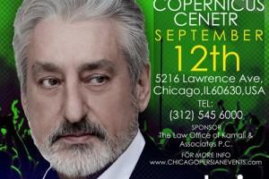 ebi, persian concert, chicago persian events, farsi music, pop music, chicago concert, chicago events, chicago, Ebi, EMH Productions, Copernicus Center