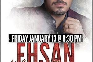 Ehsan, KhajehAmiri, KhajeAmiri, Ehsan Khajeh Amiri, Persian Concert, Persian Events, Chicago, Friday Jan 13, 2017, Ehsan Live in Chicago, Amiri, Copernicus Center, Copernicus Foundation