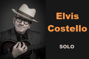 Elvis Costello Solo Chicago