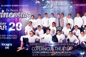 Quinceanera Angel, Quinceaneras Dance Show, En Busca de Princesas Dance Show, Chicago, Maestro de Vals, Angel Novoa, Sweet 16, Live dance, Copernicus Center