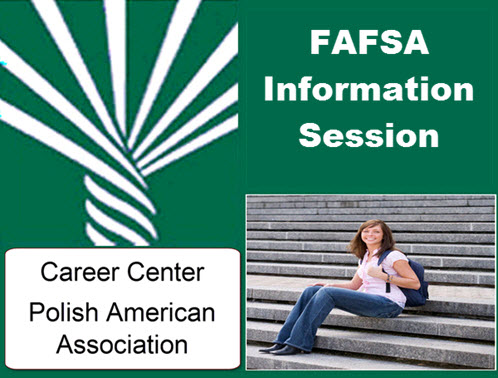 Chicago, Chicago Events, College funding, college loans, FAFSA, Free Event, PAA, Polish American Association, September 2015, workshop, student aid, Copernicus Center