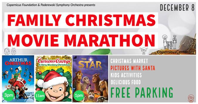family christmas movie marathon copernicus center 1282018 - Best Family Christmas Movies
