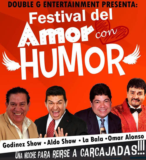 comedia en vivo, Chicago, standup comedy, live performance, comediantes, godinez show, show, aldo show, la bala, omar Alonso, febrero 13 2016, February 13, Chicago event, Copernicus center, double g, double g entertainment, festival del amor con humor, Godinez Show, Aldo Show, La Bala, Omar Alonso, Copernicus Center