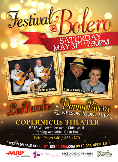 Festival del Bolero - Los Panchos & Danny Rivera with Nelson Gonzalez