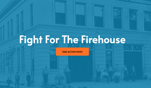 Fight for the Firehouse website